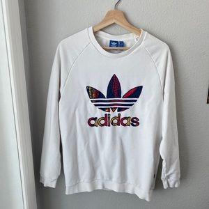 Adidas embroidered pullover